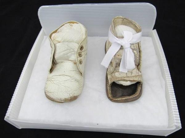 sapatos em reserva técnica